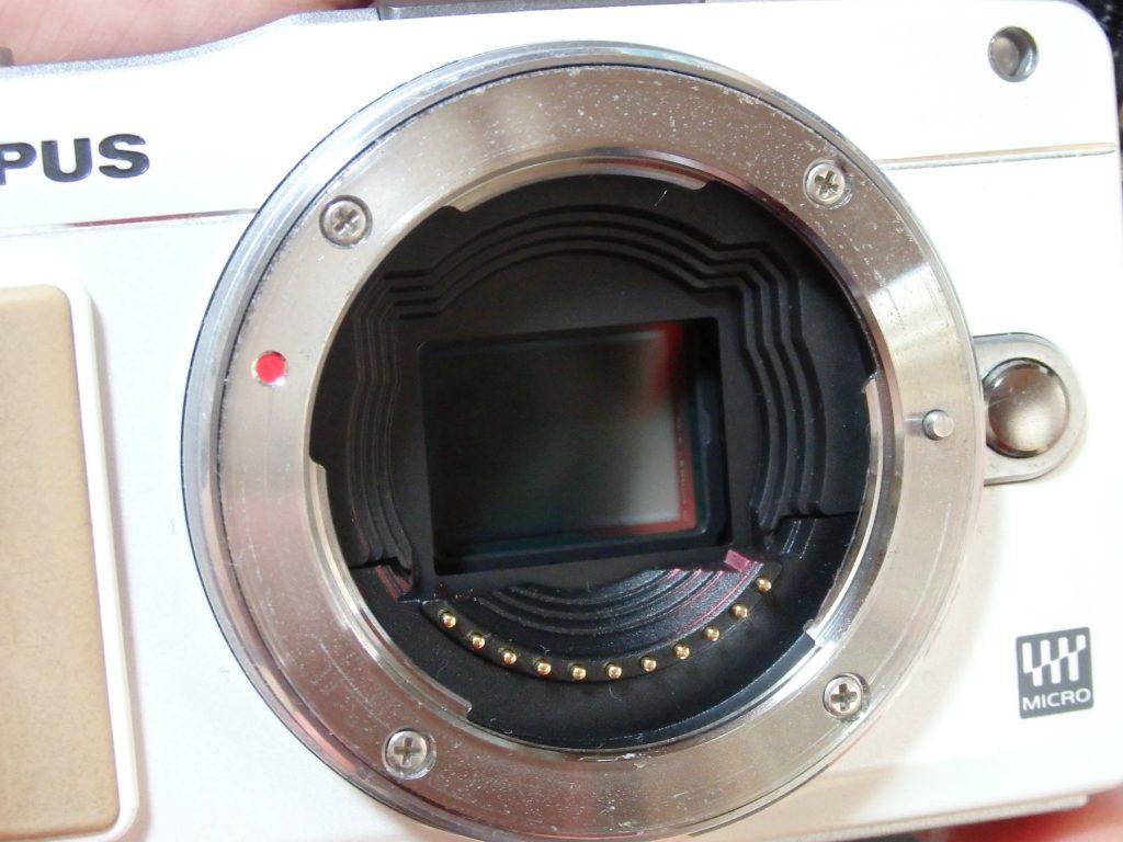 ミラーレスのイメージセンサー