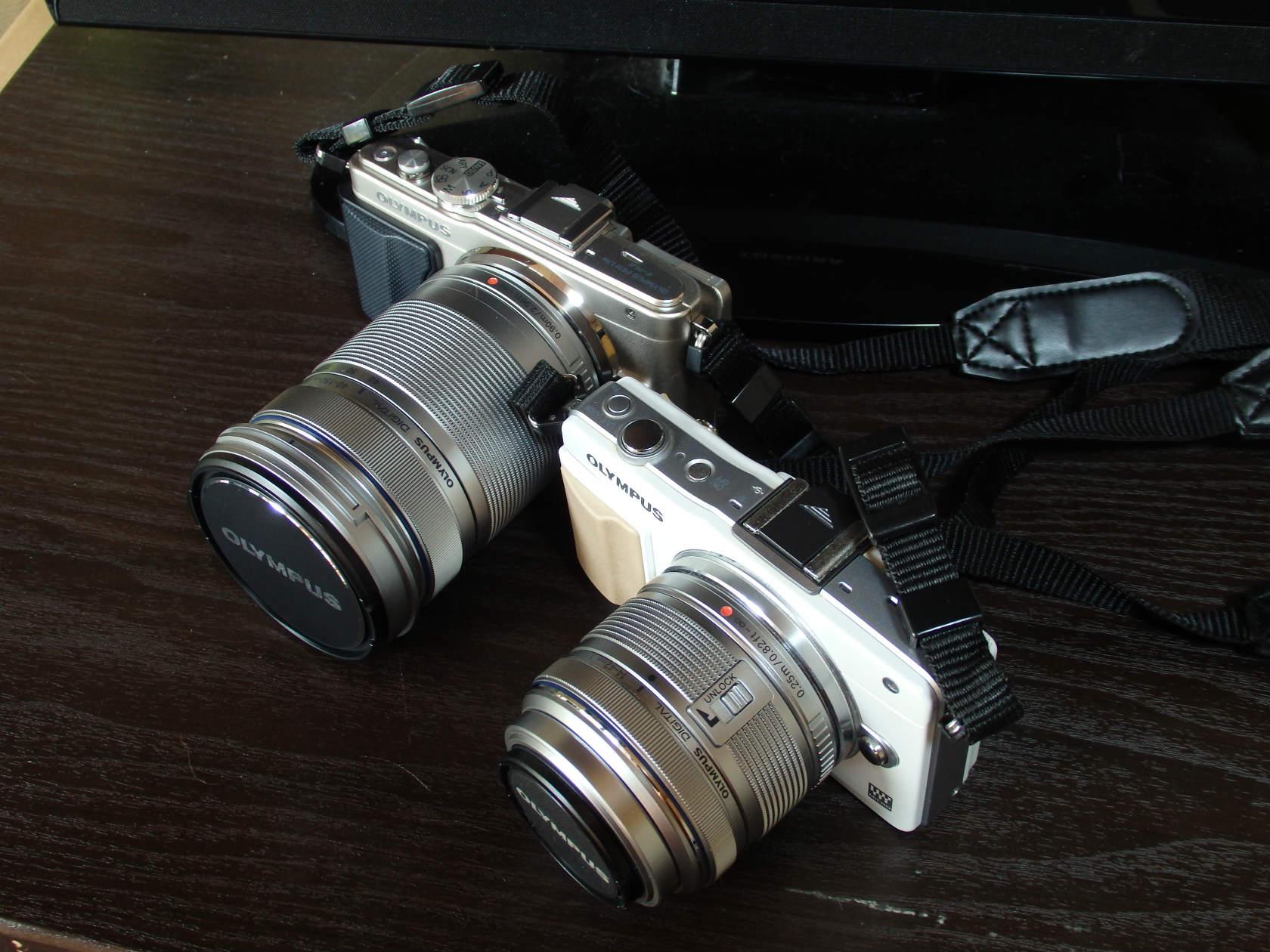 モードダイヤルがあるのとないミラーレスカメラ